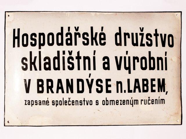Reklamní nápisy a cedule 1