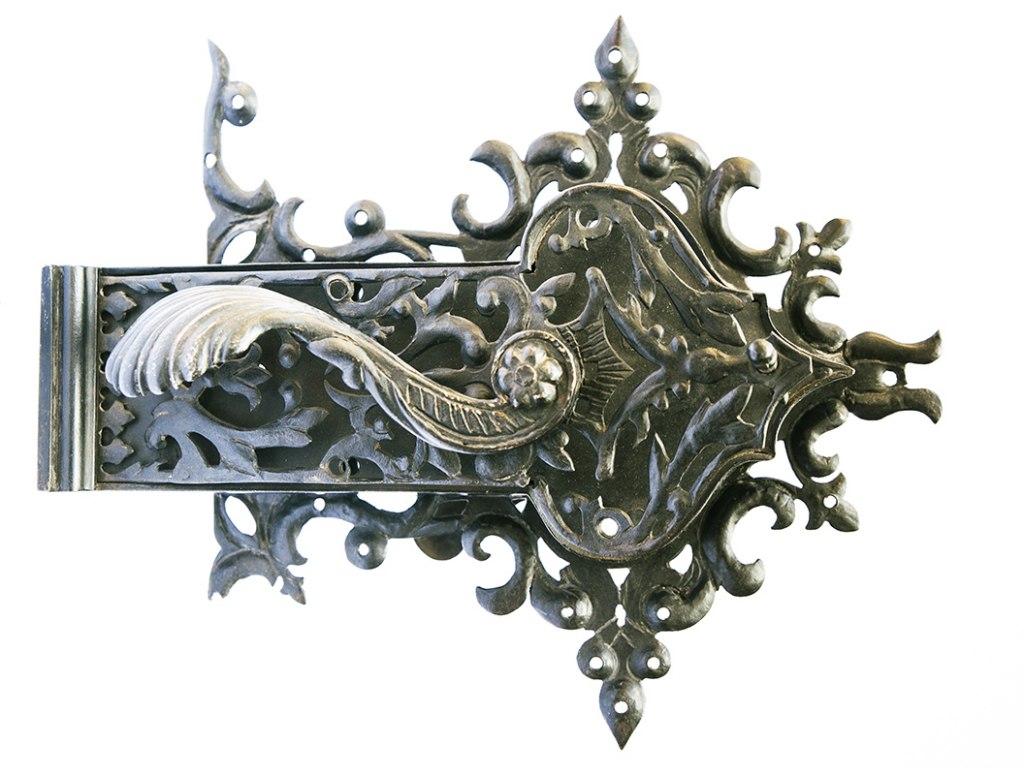 <p>Renezanční dveřní zámek, 16. století</p>