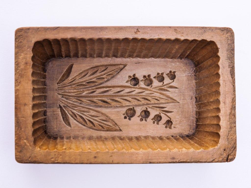 <p>Forma na máslo, konec 19. století.</p>