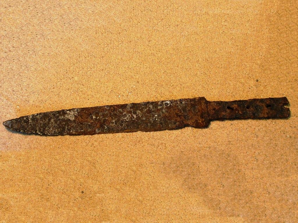 <p>Železný tesák, 16. – 17. století.</p>